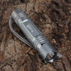 SingFire SF-69 750lm 5-Mode White Water Resistant Flashlight - Silver (1 x 18650). Mode arrangement: 100% Hi / 50% Mid / 20% Lo / 10Hz Fast Strobe / SOS. Tags: #Lights #Lighting #Flashlights #LED #Flashlights #18650 #Flashlights