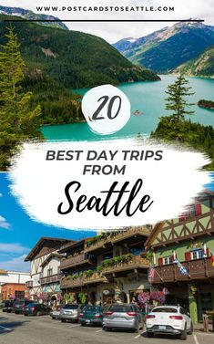 Day Trips From Seattle, Seattle Travel Guide, Seattle Vacation, Vacation Spots, Washington Things To Do, Washington State, Vancouver Washington, Places To Travel, Travel Destinations