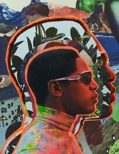 Alice Isaac, Collage Artist, image maker and Animator based in London Art Visage, Digital Art Photography, Graphic Art, Graphic Design, Collage Artists, A4 Poster, Digital Collage, Fan Art, Art Direction