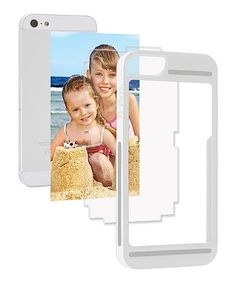 White frām Case for iPhone 5/5s