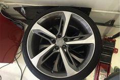 """OEM 21"""" RS7 Wheels + Tires"""