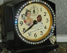 Upcycle vintage alarm clock