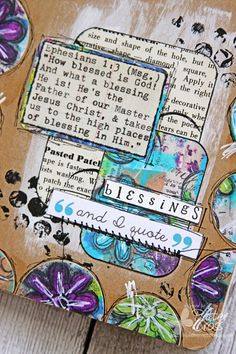 Triple the Scraps: {Glory Art} Scripture Challenge #10, Still