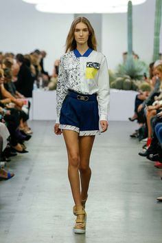 Iceberg Spring 2015 Ready-to-Wear - Collection - Gallery - Look 1 - Style.com- photo-Monica Feudi