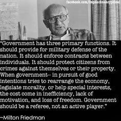 """Government has three primary functlons. should provide for núlitary defense of the nation. It should enforce contracts between individuals. should protect citizens from crimes against themselves or their property. When government Thomas Jefferson, Great Quotes, Inspirational Quotes, Epic Quotes, Random Quotes, Motivational, Lack Of Motivation, In Pursuit, Political Quotes"