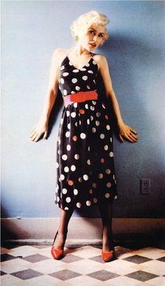 Debbie Harry - 70's polka dots