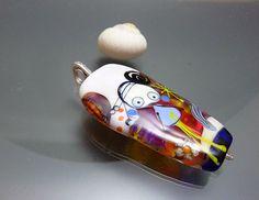 Lampwork Perlen Glasperle Fee Flamme gearbeitet von melaniemoertel, $160.00