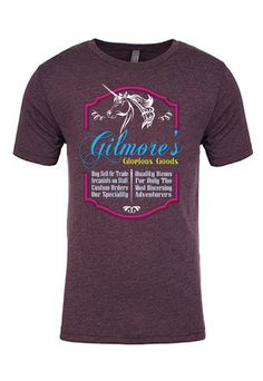 Critical Role - Gilmore's Glorious Goods T-Shirt| WHY DOES EVERYTHING I LOVE HAVE TO BE SOLD OUT? seriously though, I can't wait till they get more of these in stock!