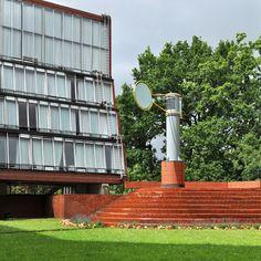 james stirling, florey building, oxford 1966-1971