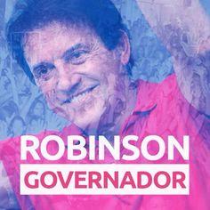 ROBINSON É O NOVO GOVERNADOR DO RIO GRANDE DO NORTE! #EuAcreditei #RobinsonGovernador