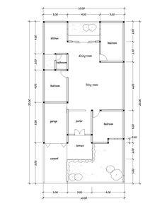 30x60 House Plan Elevation 3d View Draw 30x60 House Plan