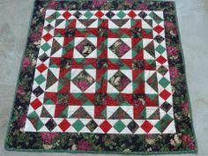 Christmas Quilt for Myra, 1998