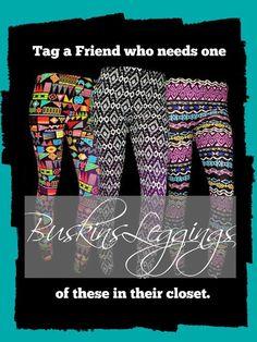 Buskins Leggings for you - www.mybuskins.com/#ChelseaT