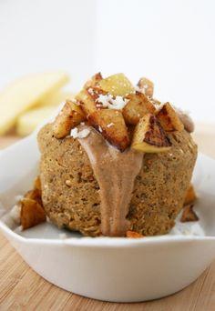 Cinnamon-Apple Breakfast Bake by naturalnoshing #Breakfast #Muffin #Apple #naturalnoshing