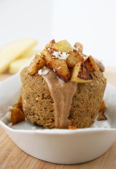 Cinnamon-Apple Breakfast Bake. This looks delicious, bet it would be nice for a winter morning breakfast.