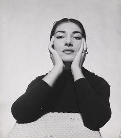 Portrait of Maria Callas by Cecil Beaton, 1957