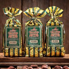 Chocolate Covered Pecans - (3) 12 oz. Bags