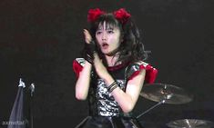 BABYMETAL Summer Sonic 2015 (Makuhari) Gimme chocolate!! Recently, Yui's expression became rich, I think.