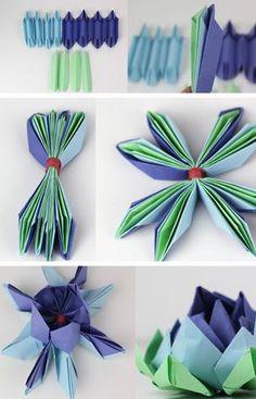 Gli origami continuano ad appassionarmi ogni giorno di più e oggi avevo voglia di cimentarmi in un nuovo progetto. Ho scelto di creare un fiore proprio con questa tecnica: il fior di Loto, considerato sacro per alcune religioni perché rappresenta simbolicamente la purezza. Ho scoperto con grande gioia che è un origami molto semplice, da...