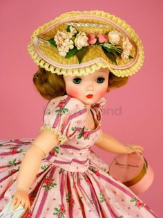 """~ Pretty """"Cissy"""" Doll ~ (1956)"""
