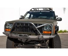 Manta Ray Front Winch Bumper with Brush Guard - Jeep Cherokee XJ: this is going on my XJ asap