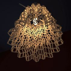 3D print, lampshade, lighting.Join the 3D Printing Conversation: http://www.fuelyourproductdesign.com/