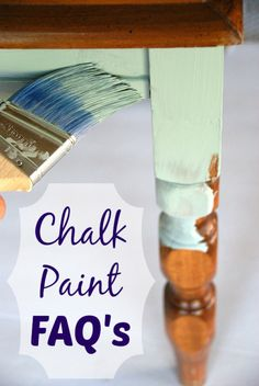 Answers to the most common questions about chalk paint. canarystreetcrafts.com