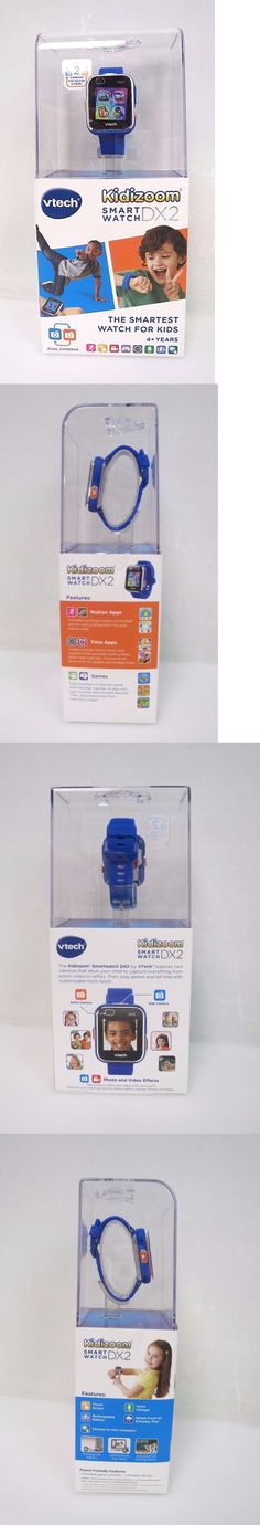 Learning Systems 158695: Vtech Kidizoom Smartwatch Dx2 Blue Kids Tech Games Track Steps Camera Watch -> BUY IT NOW ONLY: $38.25 on eBay!