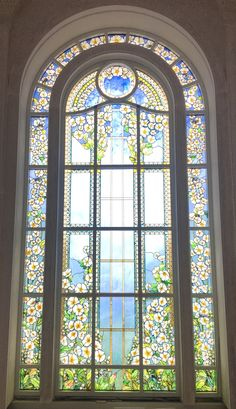 We create Stained Glass windows. We specialize in painted art glass, stained glass and blown glass. Everything glass.