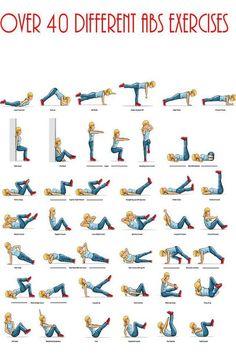 40 ejercicios para abdomen. pic.twitter.com/Rn80YDVuNE