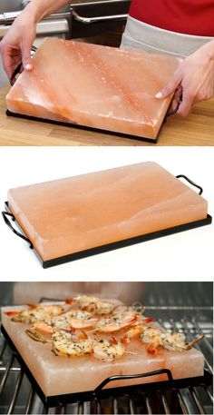 Himalayan salt is the hottest salt around - literally: you can use this to add a delicate flavoring when grilling thin cuts of meat, fish, and shellfish.