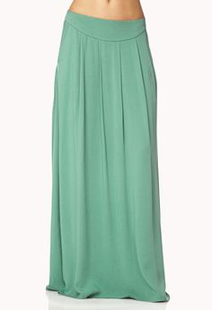 Pleated Maxi Skirt | FOREVER21 - 2038175608