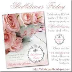 Shabbilicious Friday Link Party - Shabby Art Boutique