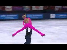 Aliona SAVCHENKO &  Robin SZOLKOWY(GER) 2010 ISU GRAND PRIX series TEB LP - Pink Panther 20101126  They won Tropee Eric Bompard with 197.88 total points. Aliona Savchenko, Skate Gif, Dance Like No One Is Watching, Ice Skaters, Pink Panthers, Roller Skating, Figure Skating, Grand Prix, Art