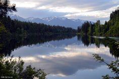 Swan Lake near Big Fork, Montana