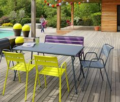 Chaises #Fermob #Luxembourg #Blanc coton, restaurant Babylonstoren ...