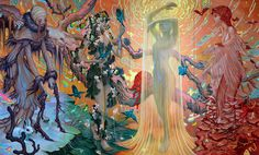 Seasons by James Jean - I think my favorite artist right now.