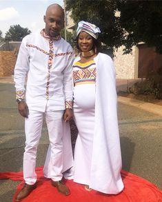 Traditional wedding outfit - Zulu and Shona wedding