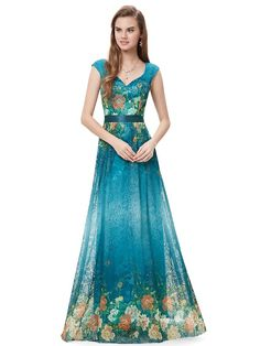 Вечерние платья HE08386GR тех довольно бесплатная доставка v образным вырезом сексуальное напечатаны цветочные кружева с 2015 купить на AliExpress
