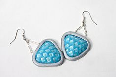 Premo! SynShade Textured Earrings