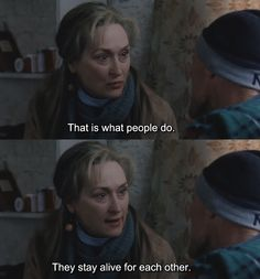 """Meryl Streep in """"The Hours"""" Cinema Quotes, Film Quotes, Tv Series To Watch, Series Movies, Best Movie Lines, Love My Best Friend, Film Stills, Movies Showing, Aesthetic Pictures"""