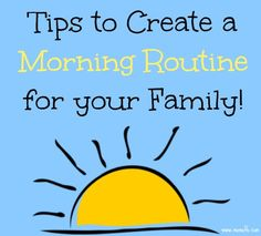 Tips-to-Create-A-Morning-Routine