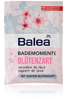Balea Bademomente Blütenzart - so toll auch jetzt im Frühling <3