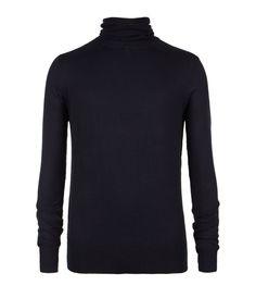 Reverse Roll Neck Pullover, Men, Sweaters, AllSaints Spitalfields