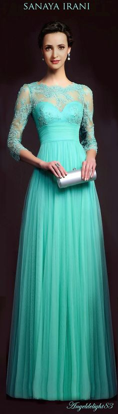 New dress prom blue aire barcelona 17 ideas Formal Prom, Formal Gowns, Formal Wear, Bridesmaid Dresses, Prom Dresses, Dress Prom, Bridesmaids, Evening Dresses With Sleeves, Moda Casual