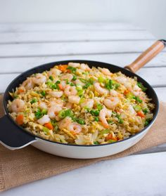 Fried rice Zeina, Fish Dinner, Fried Rice, Risotto, Food Photography, Food And Drink, Yummy Food, Snacks, Eat