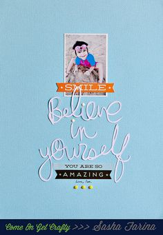 believe in yourself by ~Sasha, via Flickr