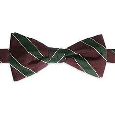 Haggar® 1926 Originals Striped Pretied Bow Tie - Men