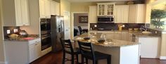 Ryan Home Model Kitchen in Kelly Glenn
