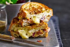 Try our 18 best cheese toastie recipes to create the perfect toasted cheese sandwich. The ultimate quick and easy comfort food, we love cheese toasties. National Grilled Cheese Day, Best Grilled Cheese, Grilled Cheese Recipes, Best Cheese, Sandwich Recipes, Lunch Recipes, Ham And Cheese Toastie, Cheese Toasties, Fig Recipes